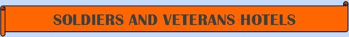 Soldiers and Veterans Hotels - Veteranenhotels - Logo