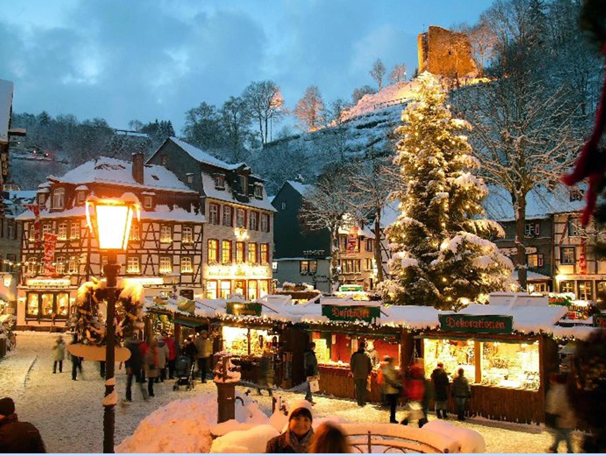 Grootste officiële Kerstmarkten Overzicht Duitsland