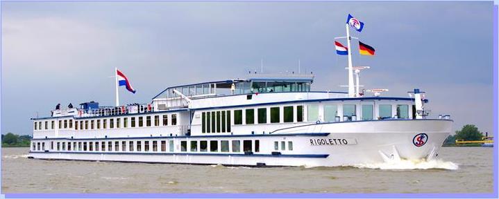 Cruise met MS Rigoletto - Rond IJsselmeer en Noord-Nederland