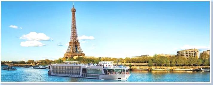 Seine cruises - BTR Reizen