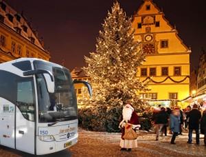 Met een luxe touringcar naar het sfeervolle hotel Heiderhof