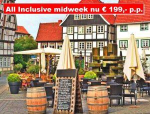 All Inclusive autovakantie naar Hotel Am Wall in het Duitse Soest